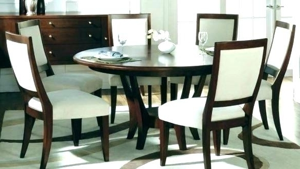 Preferred 6 Seat Dining Table Six Dining Table And Chairs Decoration Table Throughout Round 6 Seater Dining Tables (View 10 of 20)