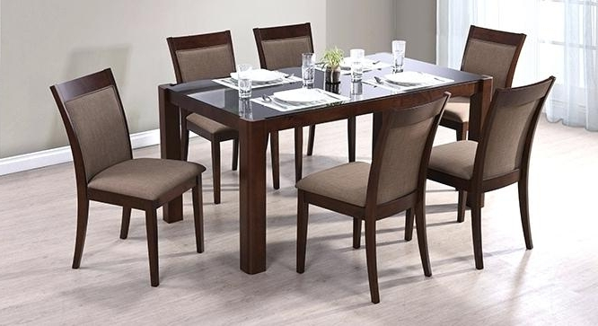 Preferred 6 Seat Dining Tables Inside Dining Table Design 6 Seater 6 Wooden Dining Tables And Chairs Buy (View 10 of 20)