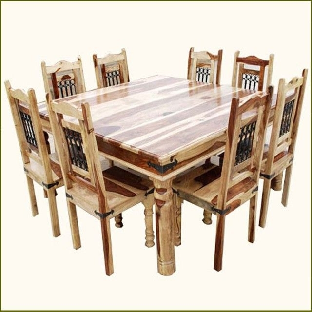 Preferred 8 Chairs Dining Tables In 8 Chair Dining Table Sets (View 10 of 20)