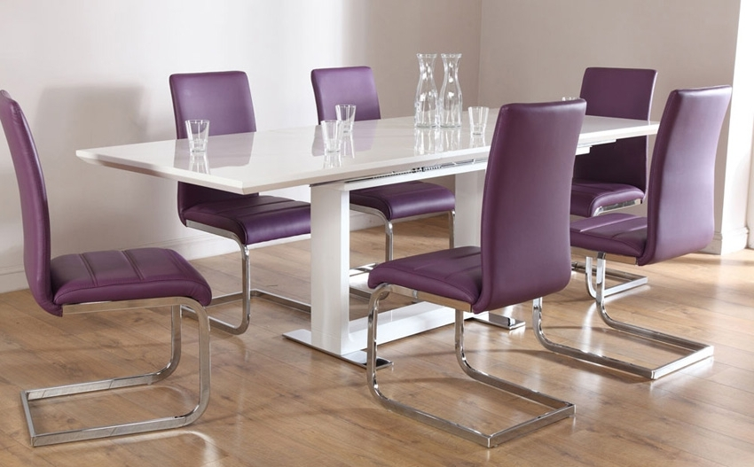 Preferred 8 Seater White Dining Tables Regarding Dining Tables (View 11 of 20)