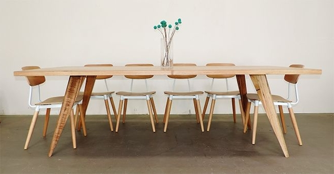 Preferred Alluring Scandi Dining Table Beautiful Home Decoration Ideas In Danish Style Dining Tables (View 12 of 20)