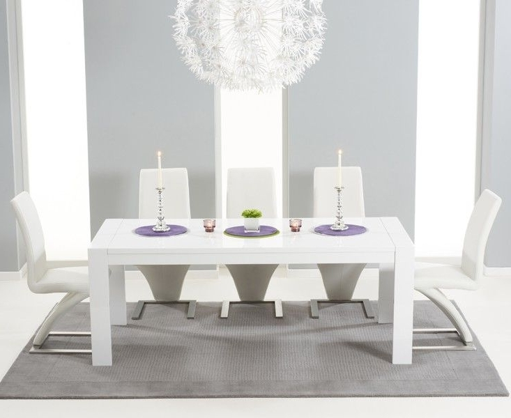 Preferred Buy The Venice 200Cm White High Gloss Extending Dining Table With Throughout High Gloss White Extending Dining Tables (View 12 of 20)