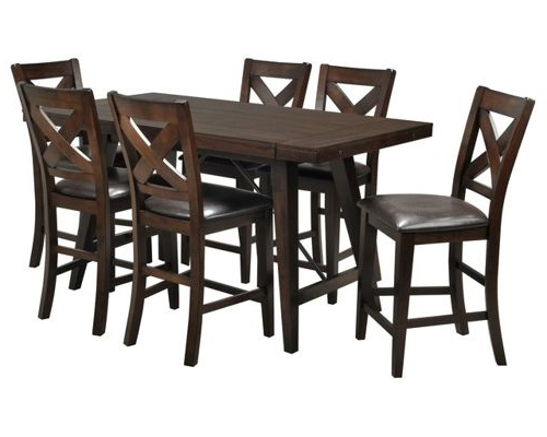Preferred Chapleau Ii 7 Piece Extension Dining Tables With Side Chairs Within Dining Room Furniture (View 19 of 20)