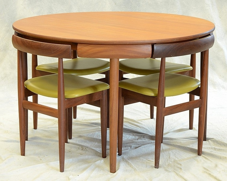 Preferred Compact Dining Room Table Marked Rem Rojle, Made In Denmark, With Regard To Compact Dining Room Sets (View 14 of 20)