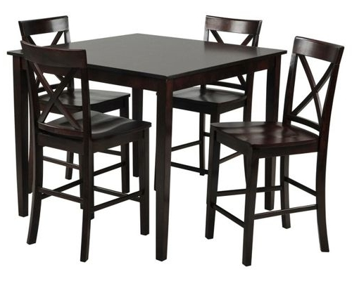 Preferred Dining Room Furniture Throughout Pierce 5 Piece Counter Sets (View 16 of 20)