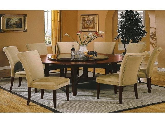 Preferred Dining Tables Set For 8 For Round Dining Room Table Set For 8 Unique 9Pc Oval Newton Dining Room (View 17 of 20)