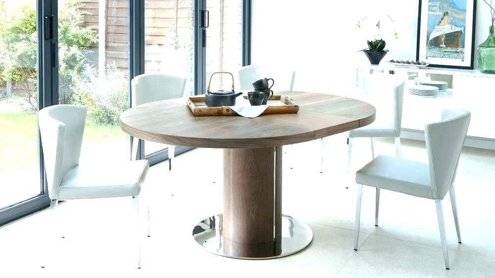 Preferred Extendable Round Dining Tables Sets For Round Extending Dining Table And Chairs – Bienmaigrir (View 9 of 20)