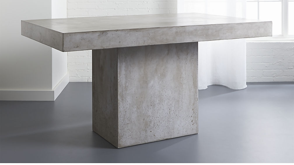 Preferred Grey Dining Tables Within Fuze Grey Dining Table (View 17 of 20)