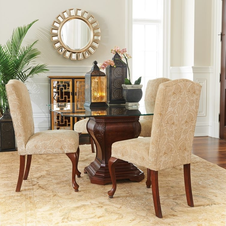 Preferred Hamilton Dining Tables Throughout Hamilton Dining Table, Langford Dining Chairs (View 17 of 20)