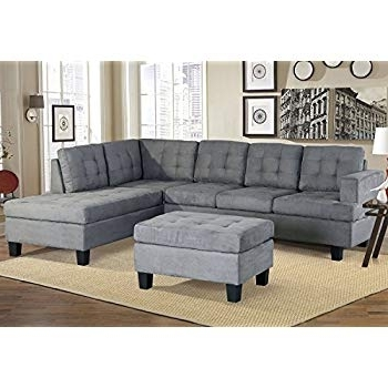 Preferred Harper Down 3 Piece Sectionals With Regard To Amazon: Harper & Bright Designs 3 Piece Sectional Sofa (View 10 of 15)