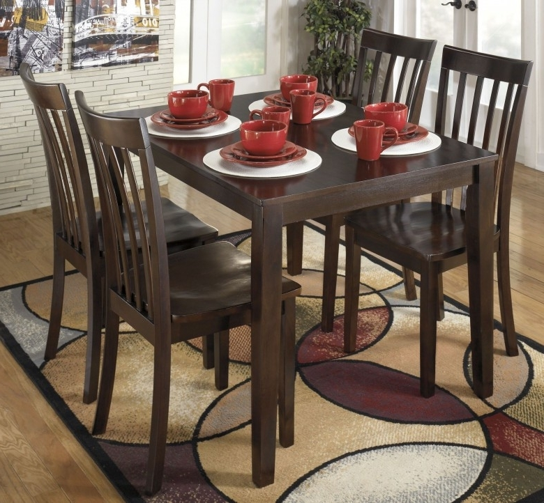 Preferred Hyland 5 Piece Counter Sets With Bench For Signature Designashley Hyland 5 Piece Casual Dining Set – Hyland (View 17 of 20)