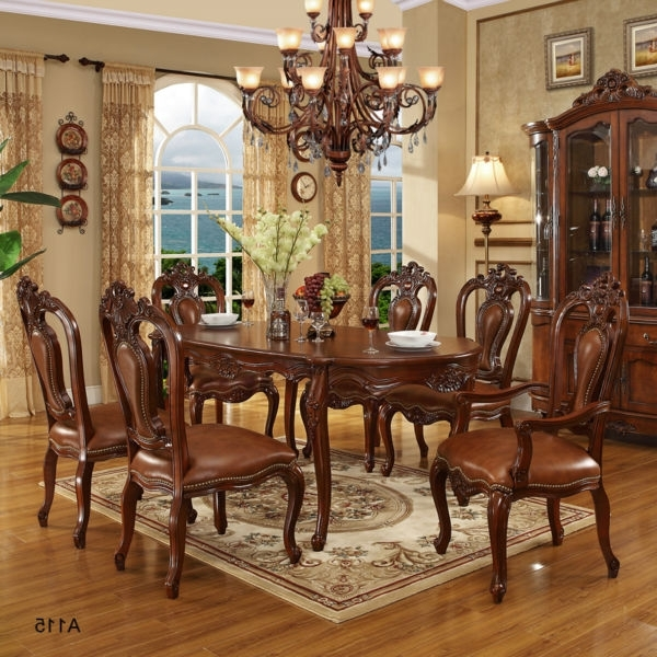 Preferred Indian Dining Room Furniture Intended For (View 17 of 20)