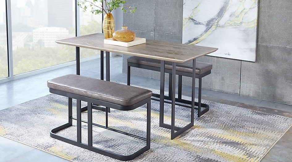 Preferred Jensen 5 Piece Counter Sets With Regard To Dining Tables (View 18 of 20)