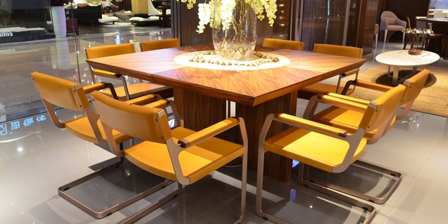 Preferred Modern Dining Suites Inside Modern Wood & Glass Dining Tables Sydney – Beyond Furniture (View 19 of 20)