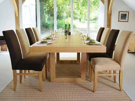 Preferred Oak Dining Suite For Extra Large Dining Tables (View 14 of 20)