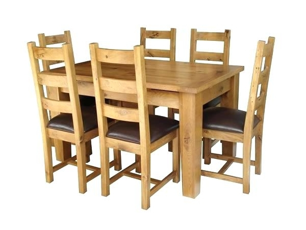 Preferred Oak Extending Dining Tables And 4 Chairs With Regard To Used Oak Dining Room Sets Solid O Solid Oak Extending Dining Table (View 19 of 20)