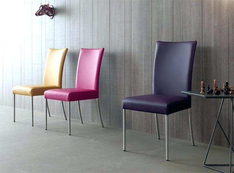 Preferred Purple Leather Dining Chairs Purple Dining Chairs Purple Leather Within Purple Faux Leather Dining Chairs (View 3 of 20)