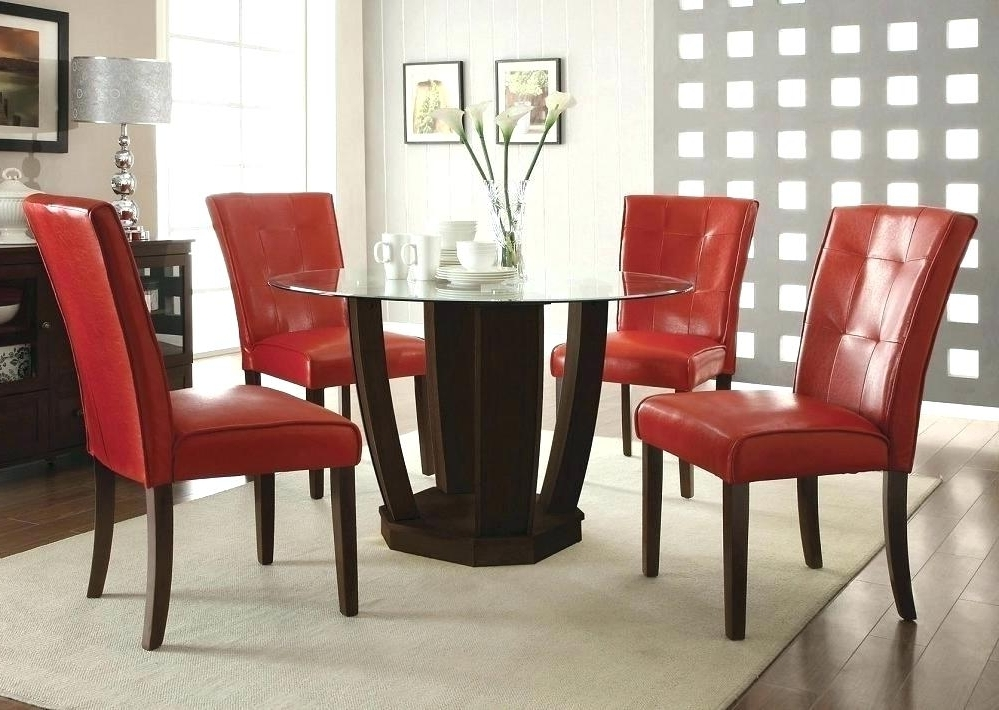 Preferred Red Leather Dining Room Chairs Lovely Which Furniture Colors Your With Regard To Red Dining Tables And Chairs (View 18 of 20)