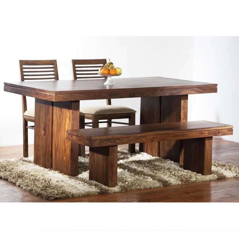 Preferred Sheesham Wood Dining 6 Seater – Rightwood Furniture Within Sheesham Wood Dining Tables (View 14 of 20)