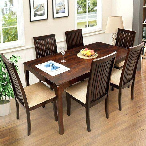 Preferred Six Seater Dining Table And Chairs 6 Dining Set Six Dining Table And With Regard To Dining Tables And Six Chairs (View 17 of 20)
