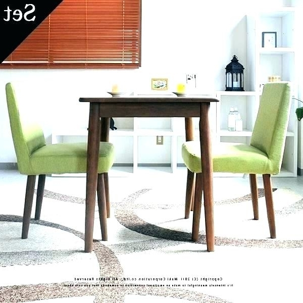 Preferred Two Seat Dining Table 2 Kitchen Set Decor Sets View Larger 8 And With Regard To Two Seat Dining Tables (View 9 of 20)