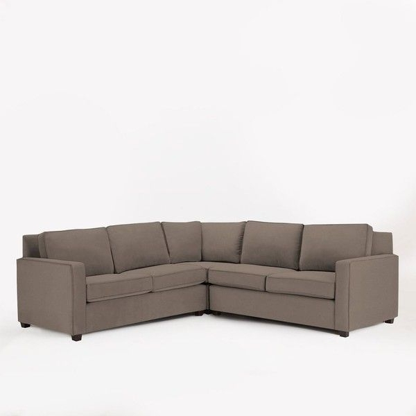 Preferred West Elm West Elm Henry Set 1 Corner, Right Loveseat, Left Loveseat Within Turdur 3 Piece Sectionals With Raf Loveseat (View 5 of 15)
