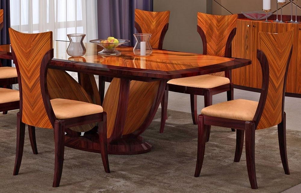 Primrose Italian Modern Dining Table Set Pertaining To Most Up To Date Modern Dining Tables (View 18 of 20)