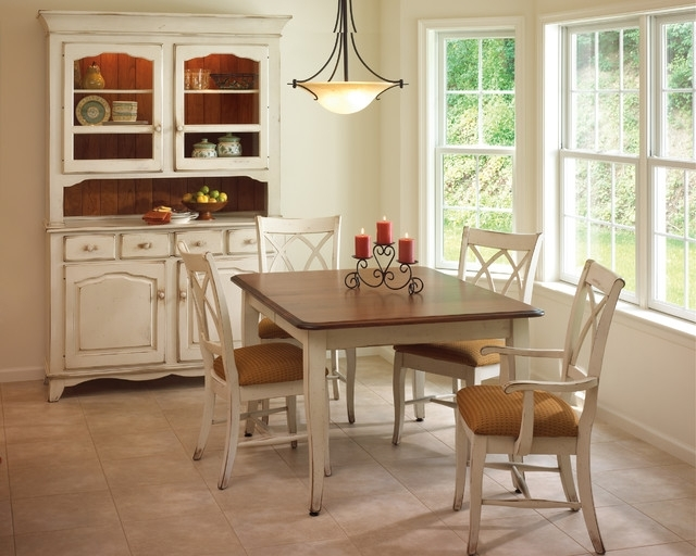 Provence Dining Set – Traditional – Dining Room – New York  King With Most Current Provence Dining Tables (View 13 of 20)
