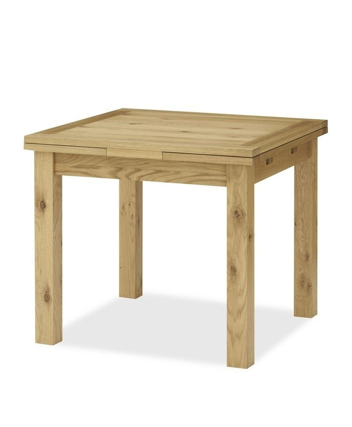 Provence Oak 2 4 Seater Draw Leaf Extending Dining Table – Brand Inside Fashionable Provence Dining Tables (View 6 of 20)