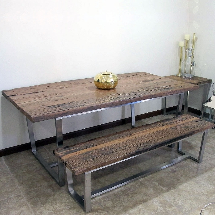 Railway Dining Tables Pertaining To Latest Riado Furniture (View 13 of 20)