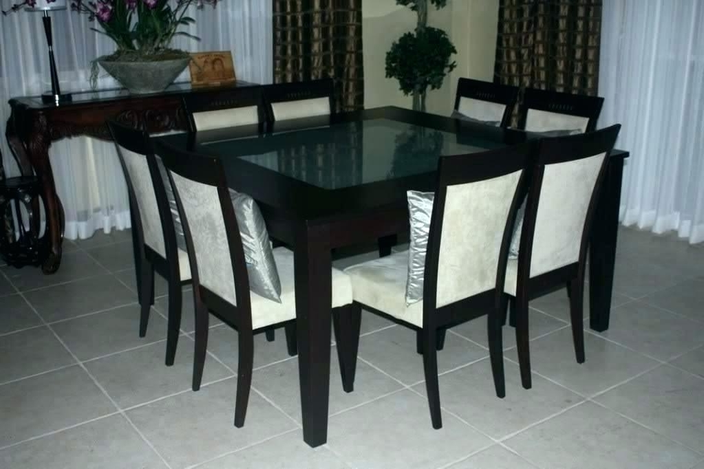 Recent 8 Seat Dining Tables For 8 Seat Dining Table 8 Dining Table Chairs Chairs Flower Dining Room (View 16 of 20)