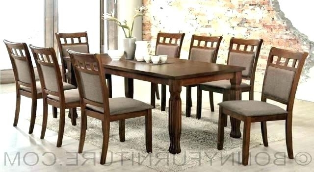 Recent 8 Seater Black Dining Tables For Dining Tables 8 Seater Dining Table 8 Dimensions Square Dining Room (View 15 of 20)