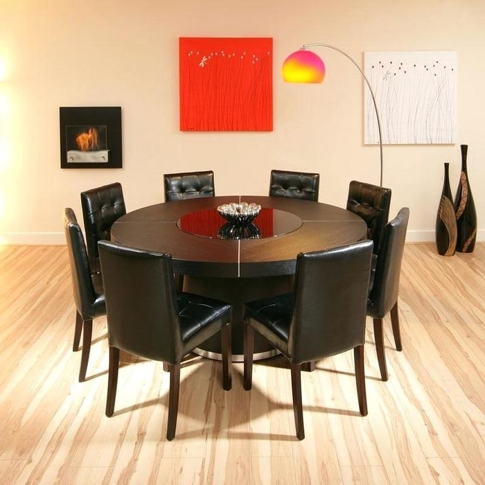 Recent 8 Seater Round Dining Table And Chairs In  (View 18 of 20)