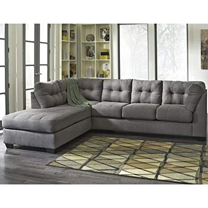 Recent Amazon: Flash Furniture Benchcraft Maier Sectional With Right Throughout Meyer 3 Piece Sectionals With Laf Chaise (View 13 of 15)
