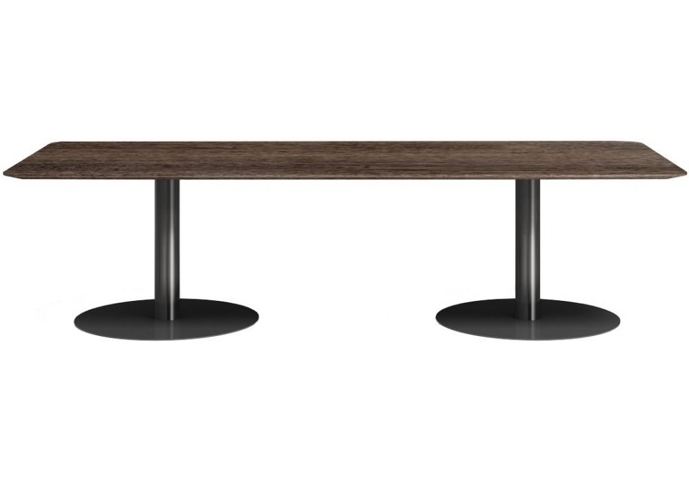Recent Bellagio Dining Tables Intended For Bellagio Dining Pewter Minotti Table – Milia Shop (View 19 of 20)
