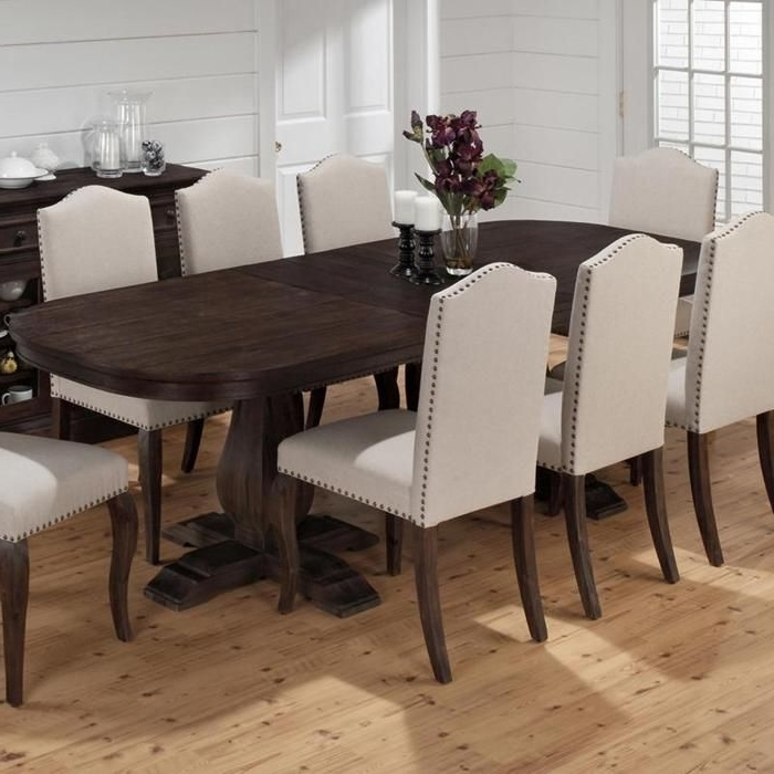 Recent Chapleau Ii 9 Piece Extension Dining Table Sets With Regard To Grand Terrace Dining Table With Butterfly Leaf (View 3 of 20)