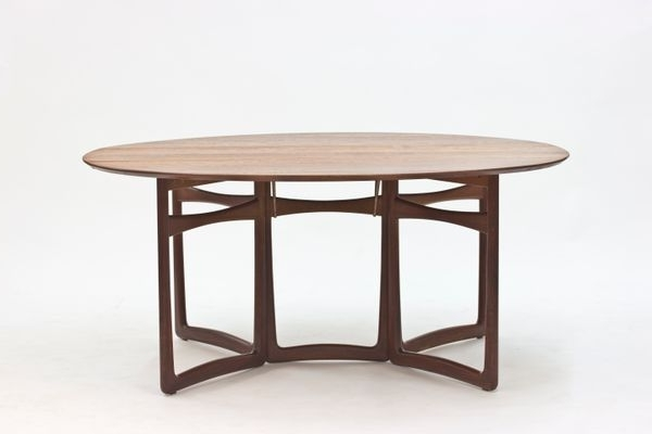 Recent Cheap Drop Leaf Dining Tables Within Teak Drop Leaf Dining Tablepeter Hvidt & Orla Mølgaard Nielsen (View 13 of 20)