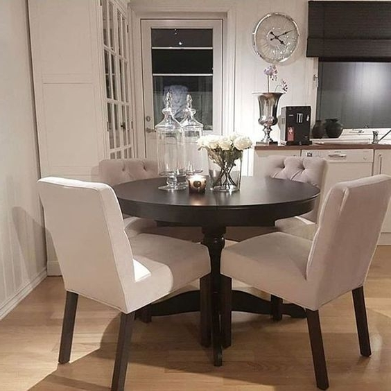 Recent Compact Dining Tables And Chairs For ♡ ᒪOᑌIᔕE ♡ (View 15 of 20)
