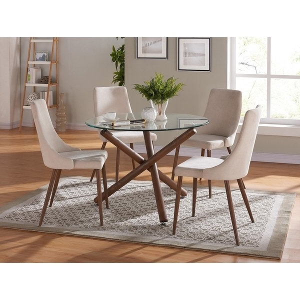 Recent Cora Dining Tables Within Shop Cora Dining Chair Set Of 2 – Free Shipping Today – Overstock (View 14 of 20)