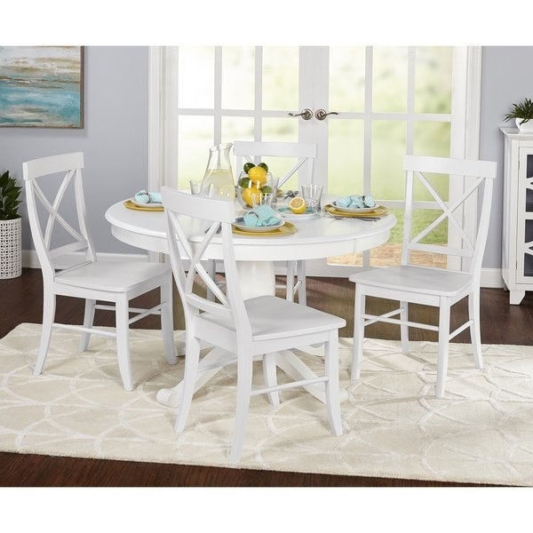 Recent Dawson Dining Tables Intended For Shop Simple Living 5 Piece Dawson Dining Set – Free Shipping Today (View 8 of 20)