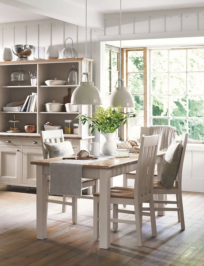 Recent Helms 7 Piece Rectangle Dining Sets With Side Chairs Within Wood Dining Tables Padstow From Marks And Spencer (View 13 of 20)