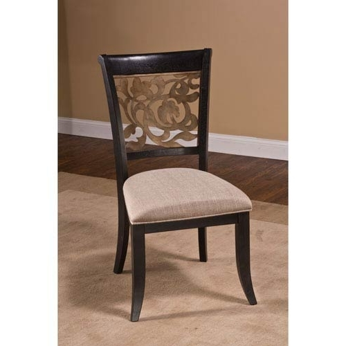 Recent Hillsdale Furniture Bennington Black Dining Chair, Set Of 2 100020 Within Dining Chairs (View 16 of 20)