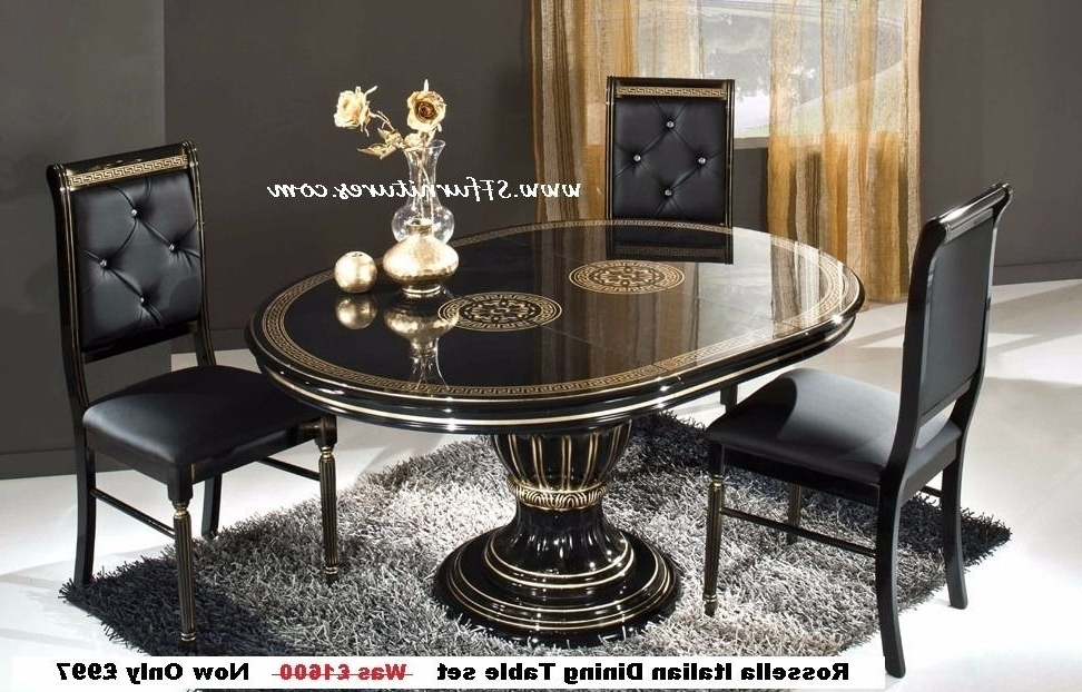 Recent Italian Dining Tables Pertaining To Italian Dining Table And Chairs, Italian Dining Table Set, Italian (Gallery 10 of 20)