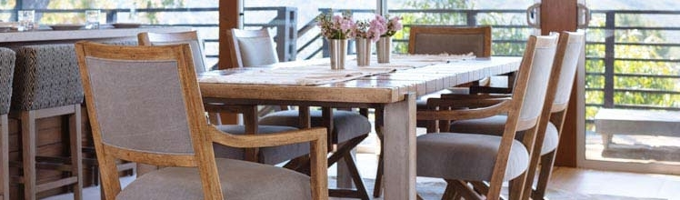 Recent Jaxon 6 Piece Rectangle Dining Sets With Bench & Uph Chairs With Dining Room Furniture Stores (View 17 of 20)