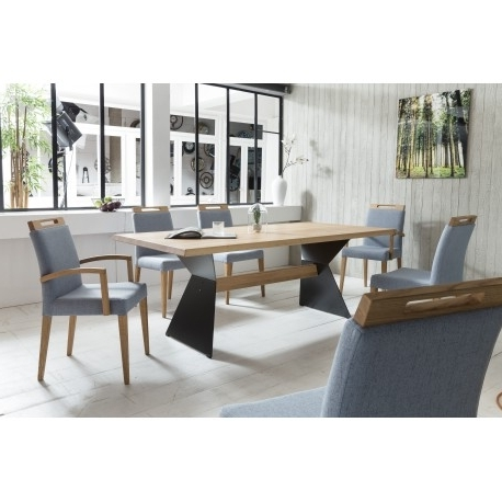 Recent Leyla – Solid Wood Dining Table – Dining Tables (2346) – Sena Home Within Solid Wood Dining Tables (Gallery 15 of 20)