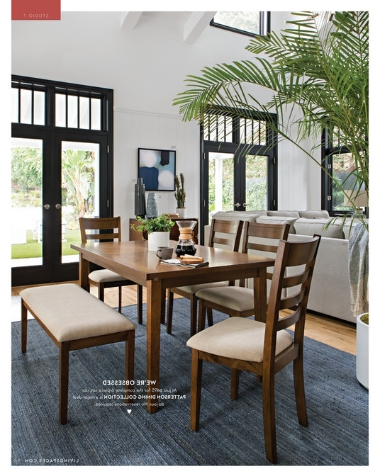 Recent Living Spaces – Fall 2017 – Patterson 6 Piece Dining Set With Patterson 6 Piece Dining Sets (Gallery 1 of 20)