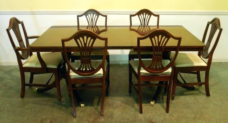 Recent Mahogany Dining Table Sets In Mahogany Dining Table And Chairs Mahogany Dining Room Chairs Dining (View 8 of 20)