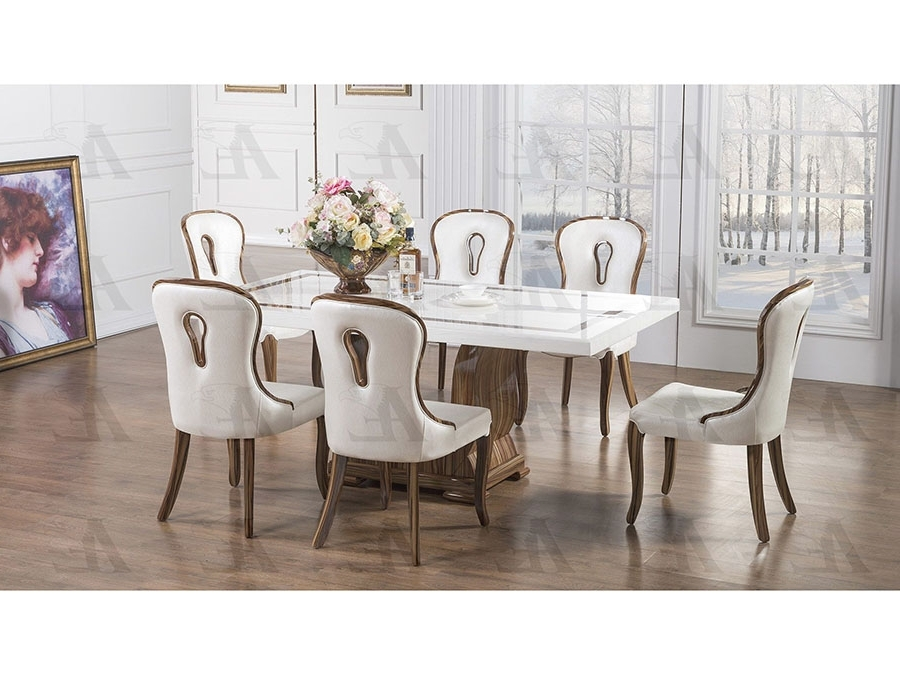 Recent Marble Dining Chairs Pertaining To Marble Top Dining Set – Shop For Affordable Home Furniture, Decor (Gallery 11 of 20)