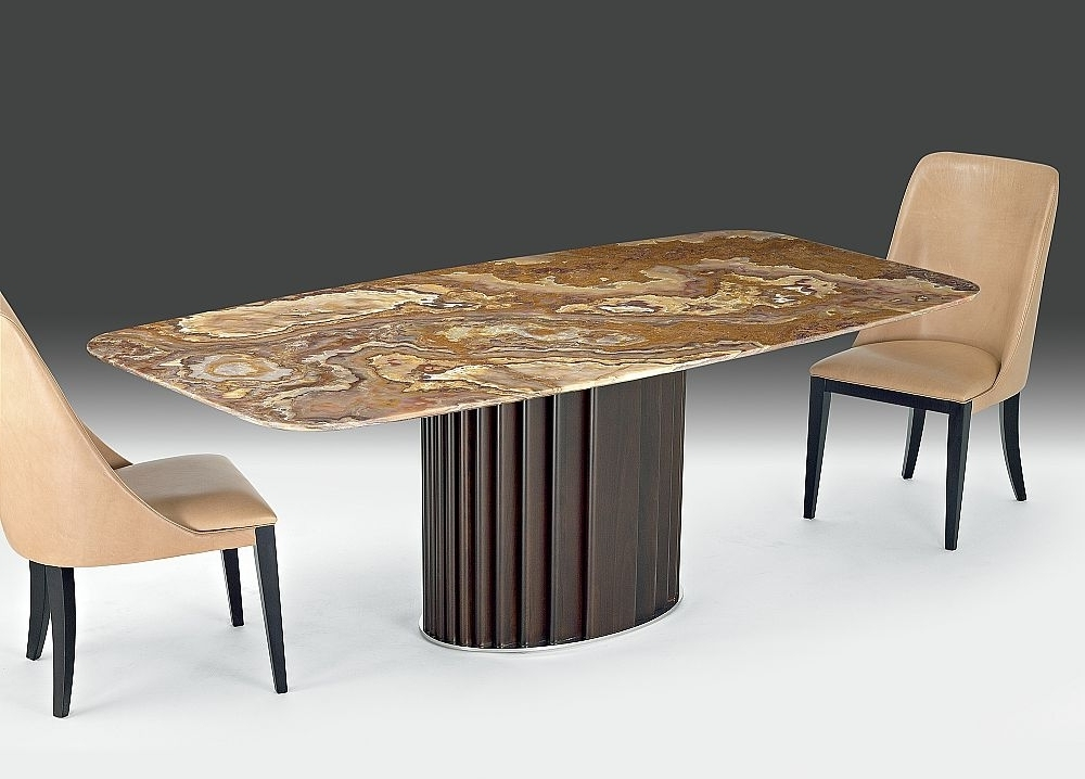 Recent Mayfair Dining Tables Within Buy Stone International Mayfair Marble Rectangular Dining Table With (Gallery 9 of 20)