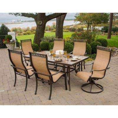 Recent Monaco – Patio Dining Sets – Patio Dining Furniture – The Home Depot Within Monaco Dining Sets (Gallery 11 of 20)
